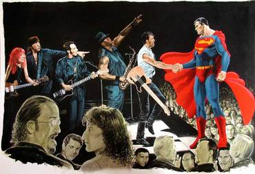 Bruce Springsteen and the E Street Band plus Superman