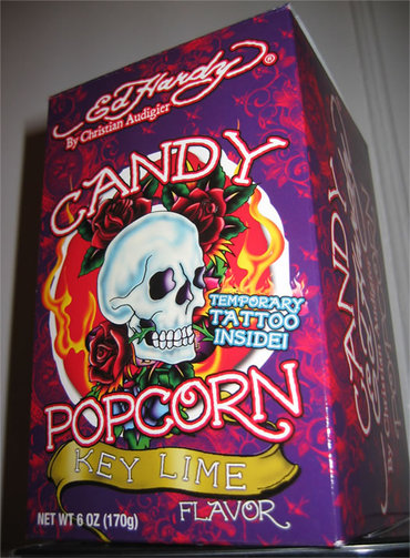 Ed Hardy Candy Popcorn Key Lime Flavor