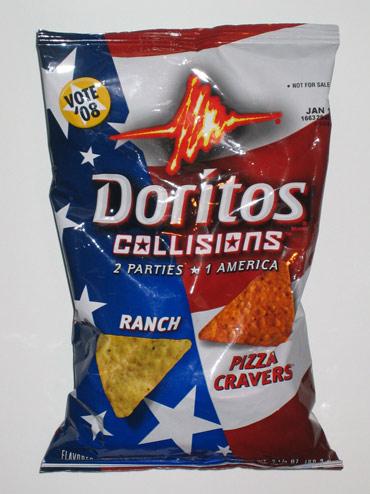 Doritos Collisions - 2 Parties * One America - Vote 08