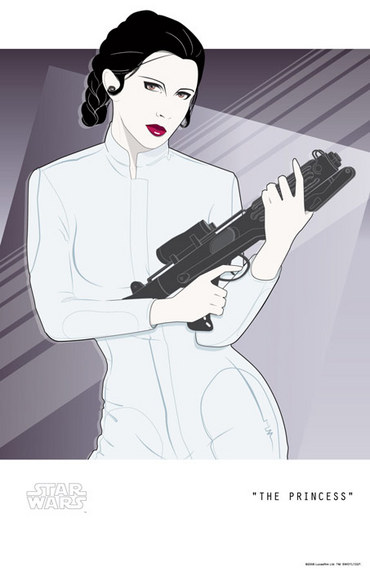 Princess Leia ala Nagel